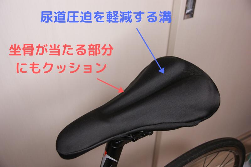 japanixのサドルカバーの形の特徴